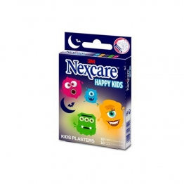 PANSEMENTS MONSTRES X20 HAPPY KIDS NEXCARE 3M