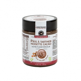 PATE A TARTINER 250G NOISETTE CACAO L'AUTHENTIQUE