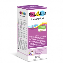 PEDIAKID IMMUNO-FORT SIROP GOÛT MYRTILLE 250ML