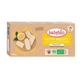 PETITS BISCUITS BIO 160G DES 12 MOIS BABYBIO