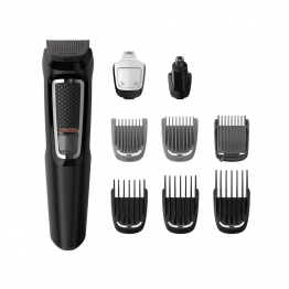 PHILIPS MULTIGROOM SERIES 3000 TONDEUSE BARBE ET CHEVEUX 9EN1 MG3740/15