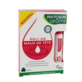PHYTOSUN AROMS ROLL'ON MAUX DE TETE 5ML