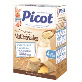 PICOT CEREALES MULTICEREALES DES 4 MOIS 200G