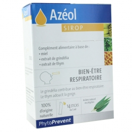 PILEJE AZEOL SIROP X14 STICKS