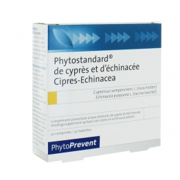 PILEJE PHYTOSTANDARD CYPRES ECHINACEE 30 COMPRIMES