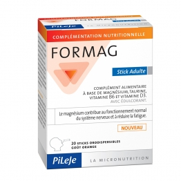 PILEJE FORMAG ADULTE 20 STICKS ORODISPERSIBLES