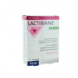 PILEJE LACTIBIANE DEFENSES 30 GELULES