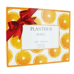 PLANTER'S COFFRET CREME CORPS ET DOUCHE + EAU PARFUM THE ORANGE