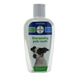 BAYER SHAMPOOING POILS COURTS CHIEN 200ML