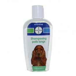 BAYER SHAMPOOING POILS LONGS CHIEN 200ML