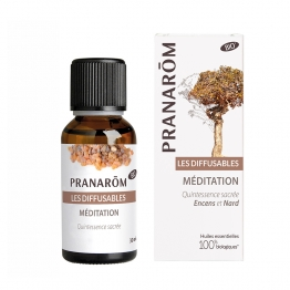 PRANAROM LES DIFFUSABLES MEDITATIONS BIO 30ML