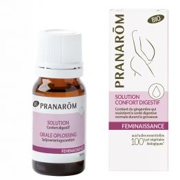 PRANAROM FEMINAISSANCE SOLUTION CONFORT DIGESTIF BIO 10ML