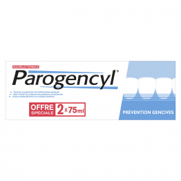 Prevention Gencives Dentifrice 2x75ml Parogencyl