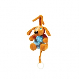 OOPS HAPPY MELODY PELUCHE CARILLON CHIEN 0 MOIS+