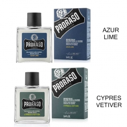 PRORASO SINGLE BLADE BAUME POUR LA BARBE 100ML