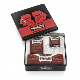 PRORASO COFFRET VINTAGE GAMME ROUGE