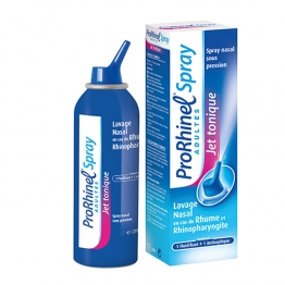 PRORHINEL SPRAY JET TONIQUE LAVAGE NASAL ADULTES 100ML