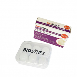 Protection auditive silicone 3 paires Biosynex