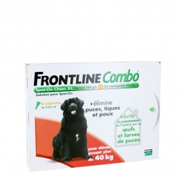 FRONTLINE COMBO SPOT-ON XL CHIEN + 40KG 6 PIPETTES