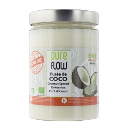 PURE FLOW PUREE DE COCO BIO 500G