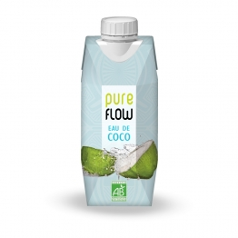 PURE FLOW EAU DE COCO BIO 330ML