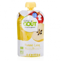 PUREE DE FRUIT BIO 120G DES 6 MOIS GOOD FRUIT