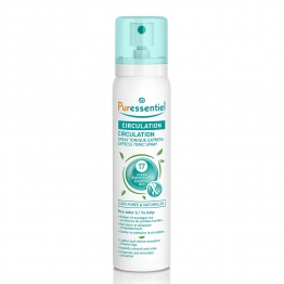 PURESSENTIEL CIRCULATION SPRAY EXPRESS TONIQUE AUX 17 HUILES ESSENTIELLES 100ML