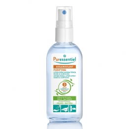 PURESSENTIEL LOTION SPRAY ANTIBACTERIENS MAINS ET SURFACES 80ML