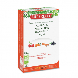 QUATUOR FATIGUE BIO 20 AMPOULES SUPERDIET