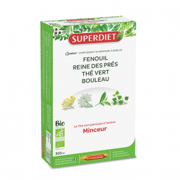 QUATUOR MINCEUR SOLUTION BUVABLE BIO 20 AMPOULES SUPERDIET