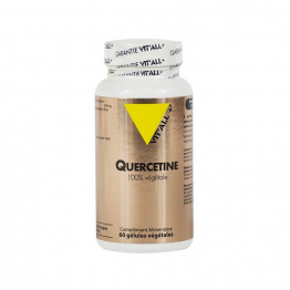 QUERCETINE 100% VEGETAL 60 GELULES VIT'ALL+