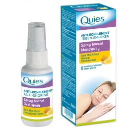 QUIES ANTI-RONFLEMENT SPRAY BUCCAL MIEL CITRON 70ML