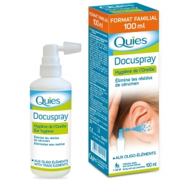 QUIES DOCUSPRAY HYGIENE OREILLE 100ML