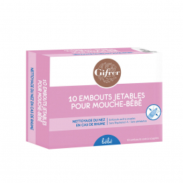 Recharge 10 embouts mouche-bebe x10 embouts Gifrer
