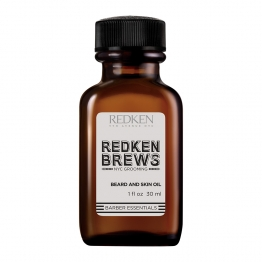 REDKEN FOR MEN BREWS BEARD OIL HUILE DE SOIN BARBE ET VISAGE 30ML