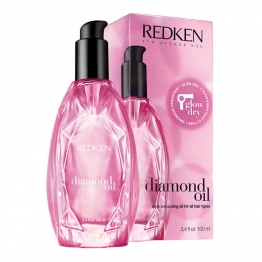 REDKEN DIAMOND OIL GLOW DRY HUILE DE BRUSHING BRILLANCE EXTREME 100ML