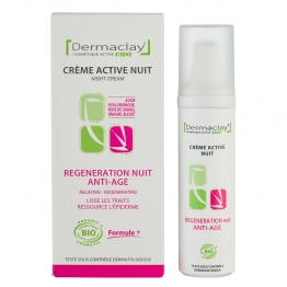 DERMACLAY CREME ACTIVE NUIT REGENERATION NUIT ANTI-AGE 50ML