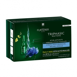 RENE FURTERER TRIPHASIC REACTIONAL TRAITEMENT ANTICHUTE REACTIONNELLE 12 AMPOULES