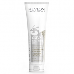 REVLONISSIMO 45 DAYS COLOR CARE SHAMPOOING & CONDITIONER APRES-SHAMPOOING STUNNING HIGHLIGHTS 275ML