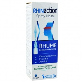 RHINACTION RHUME SPRAY NASAL ADULTES ET ENFANTS 20ML
