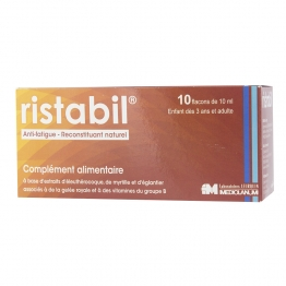 RISTABIL ANTI-FATIGUE 10 FLACONS