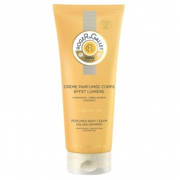 ROGER & GALLET SUBLIME OR CREME PARFUMEE CORPS AU BOIS D'ORANGE 200ML