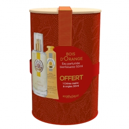 ROGER & GALLET COFFRET BOIS D'ORANGE EAU PARFUMEE 50ML + CREME MAINS 30ML