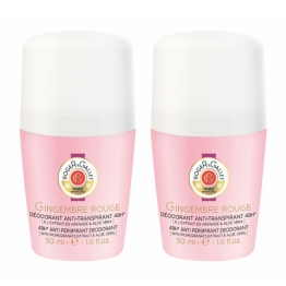 ROGER & GALLET DEODORANT GINGEMBRE ROUGE 2X50ML