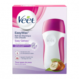 ROLL-ON ELECTRIQUE CIRE CHAUDE EASYWAX VEET