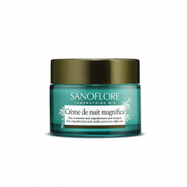 Creme De Nuit Certifiee Bio Matifiante Anti-imperfections 50ml Magnifica Sanoflore
