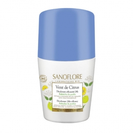 SANOFLORE DEODORANT VENT DE CITRUS ROLL-ON BIO 50ML