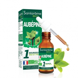 SANTAROME BIO BOURGEON AUBEPINE 30ML