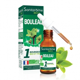 SANTAROME BIO BOURGEON BOULEAU 30ML