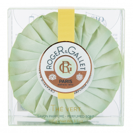 SAVON PARFUME BASE 100% VEGETALE 100G THE VERT ROGER & GALLET